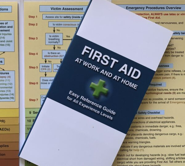 First aid brochure for work and home
